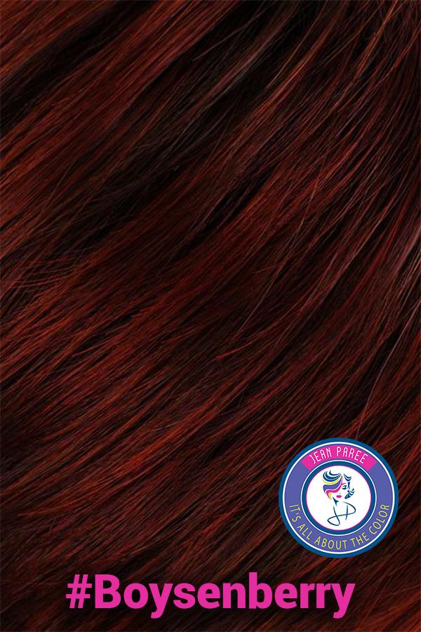 Boysenberry Hair Color Jean Paree Wigs Utah