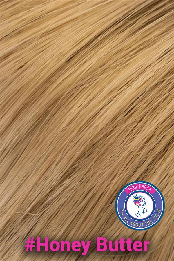 Honey Butter Hair Color. Jean Paree Wigs Utah