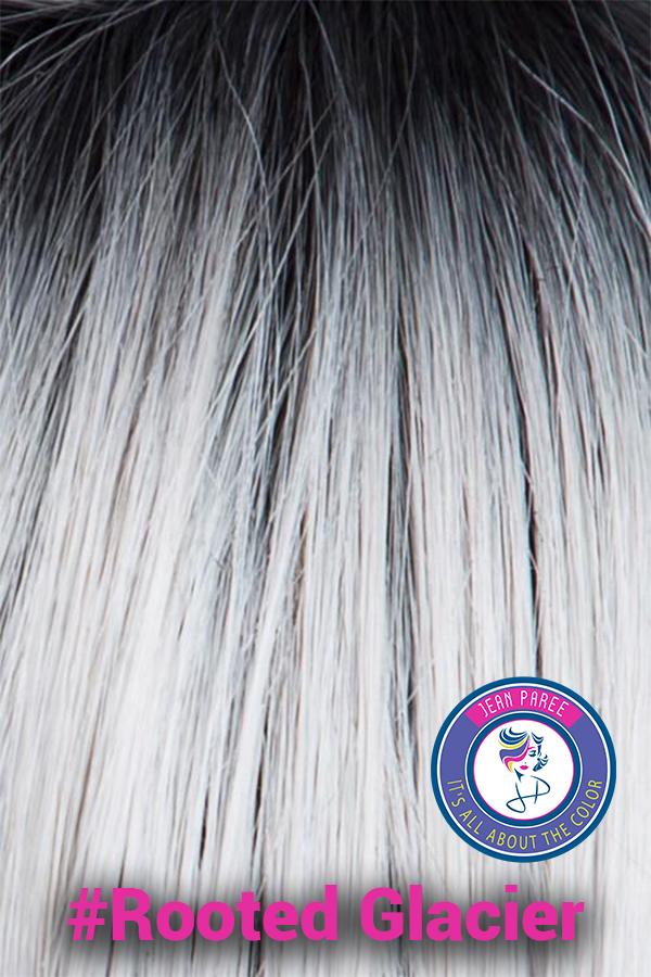 Rooted Glacier Hair Color Jean Paree Wigs, Salt Lake City Utah