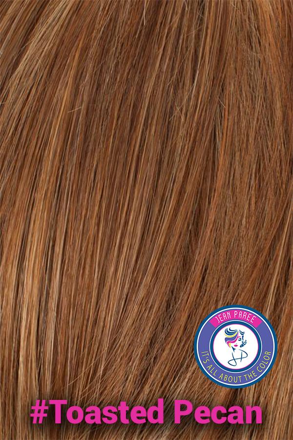 Toasted Pecan Hair Color. Jean Paree Wigs Utah